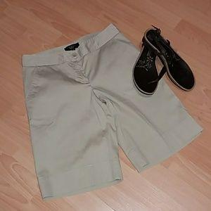 💓Talbots petites stretch khaki shorts inv#4/13💓
